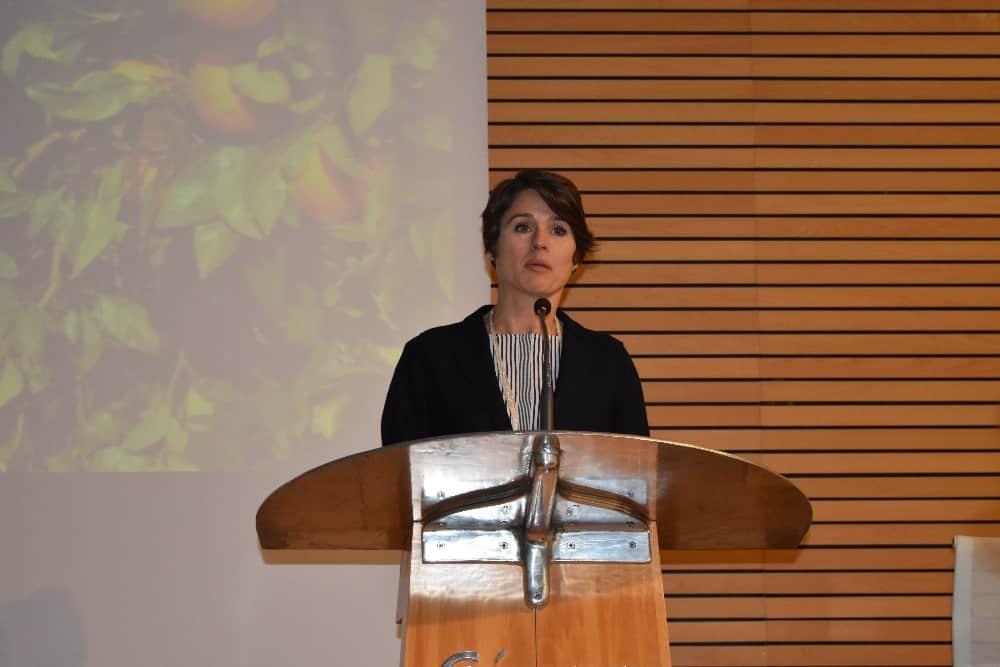 Ulrike Sapiro, directora de sostenibilidad para Europa, Oriente Medio y África de Cola Cola Company
